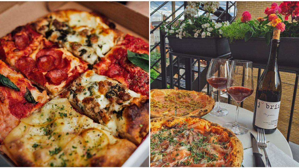 9 Authentic Montreal Pizza Spots Open For Takeout When You're Wishing You Were In Italy