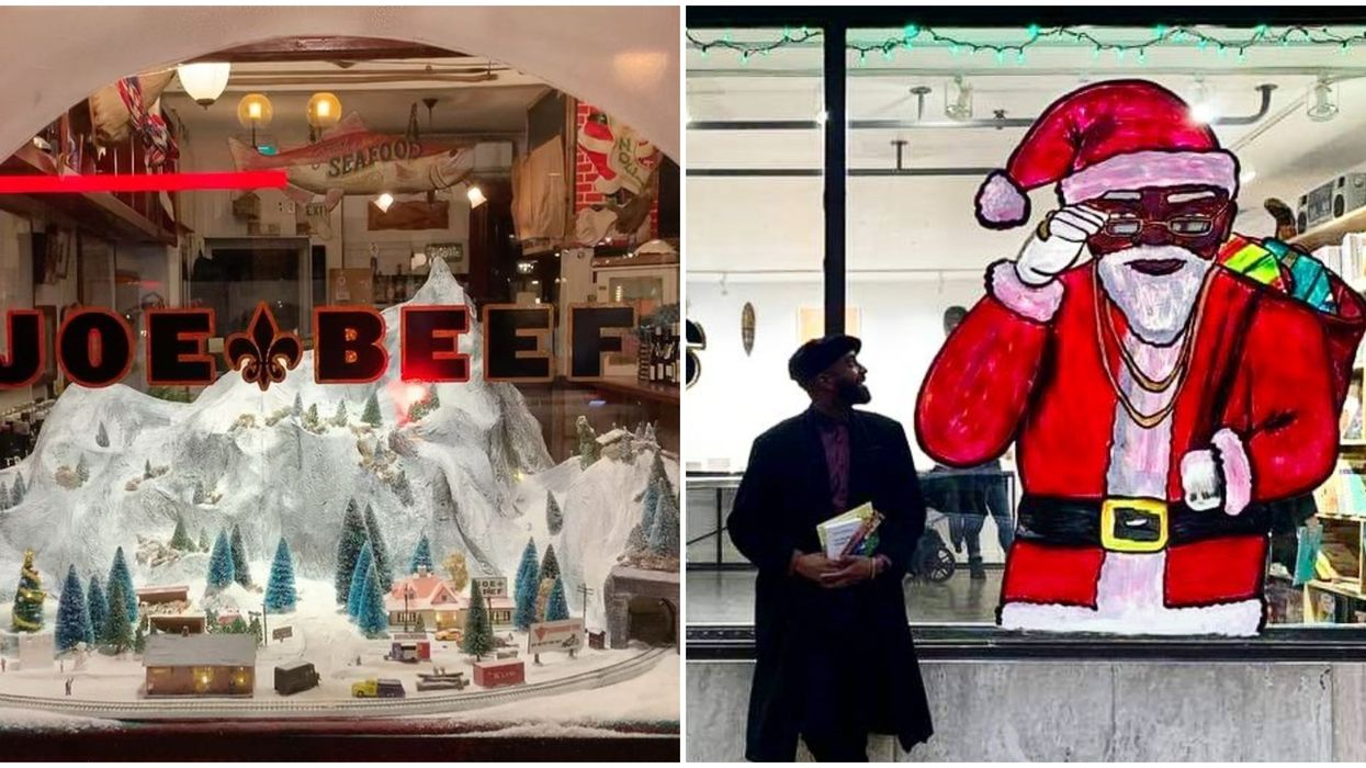 7 Montreal Christmas Windows You Have To See Before The Holidays End (PHOTOS)