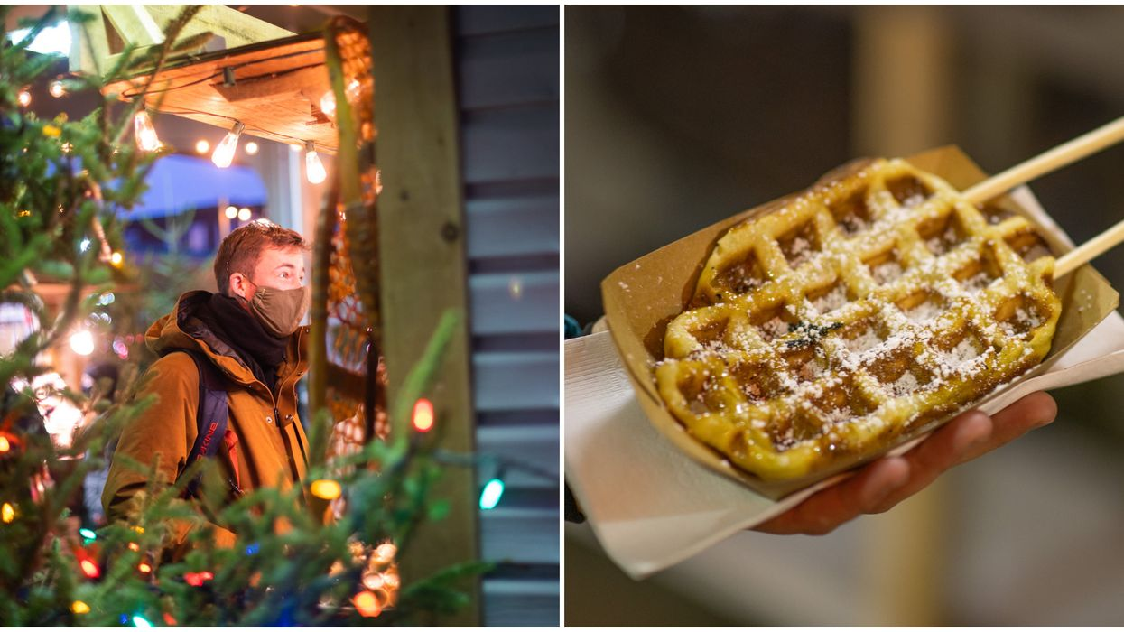 Jean-Talon's 1st Ever Christmas Market Is Officially Open & It's SO Full Of Cheer (PHOTOS)