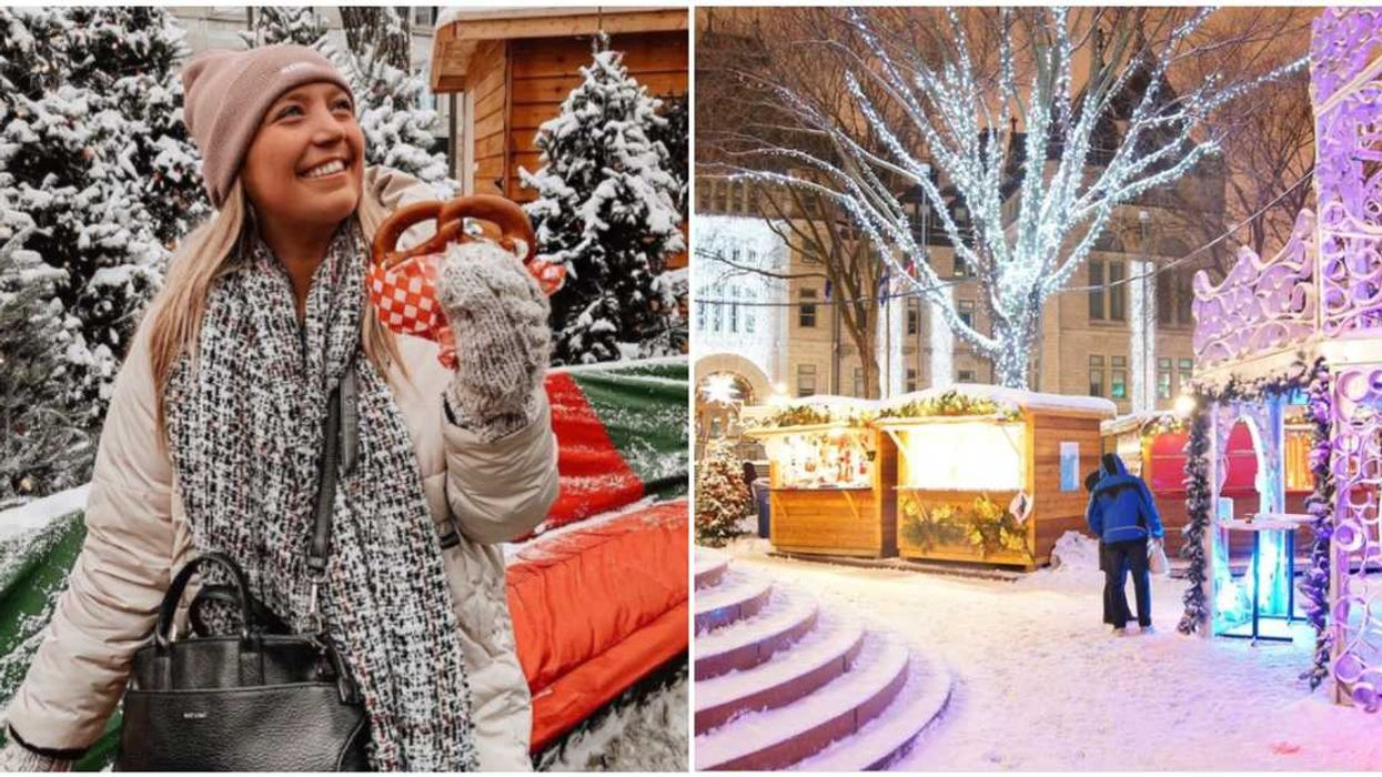 Old Quebec Will Transform Into A Real-Life Enchanted Christmas Village This Year