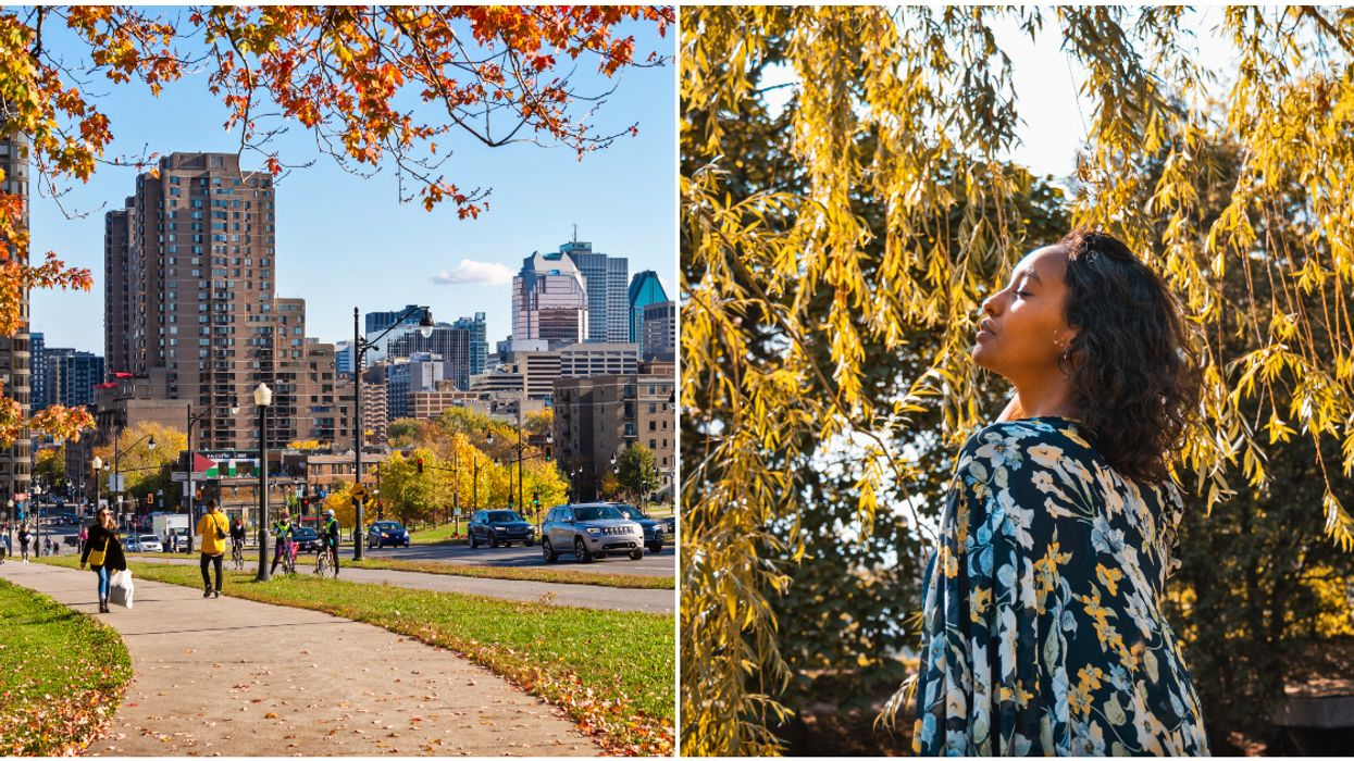It May Look Like Winter In Montreal, But It Could Feel Like Spring In The Next 7 Days