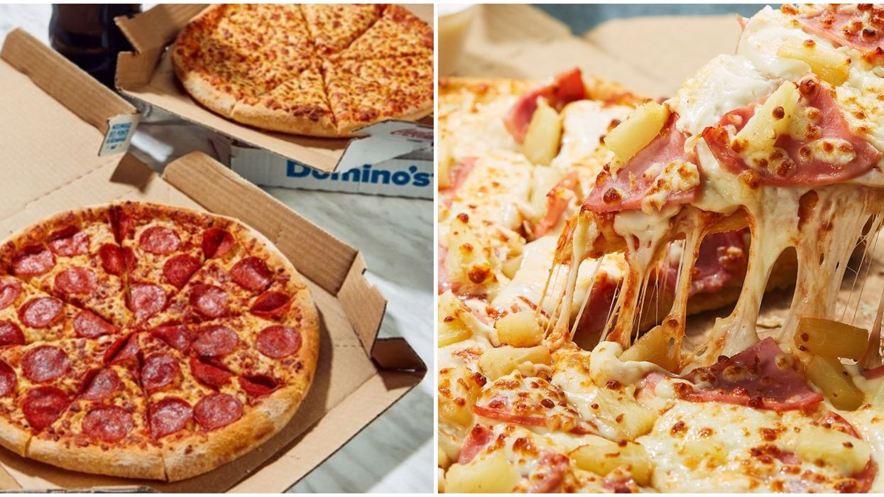 Quebecers Can Get 50% Off All Domino's Pizzas This Week When They Choose Delivery