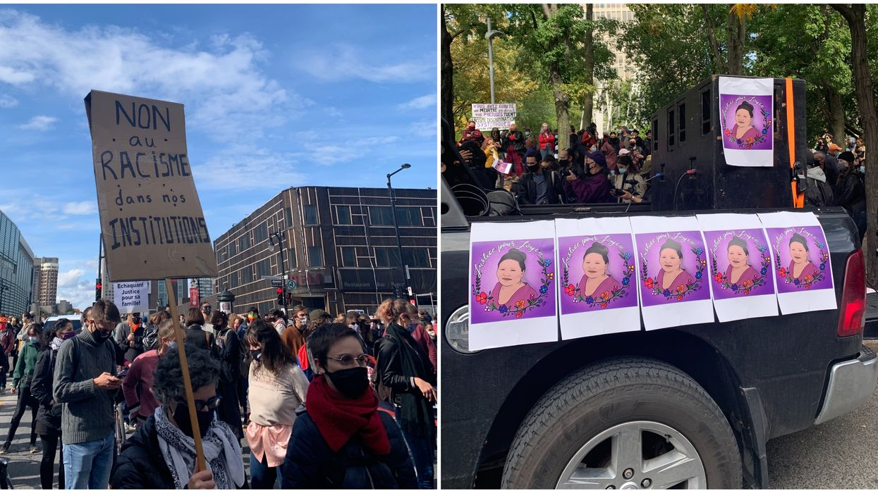 Thousands Took To The Streets Of Montreal Saturday To Demand 'Justice For Joyce' (PHOTOS)