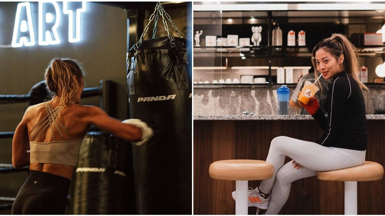This Adorable New Montreal Café Has An Underground Boxing Gym Hidden In The Back