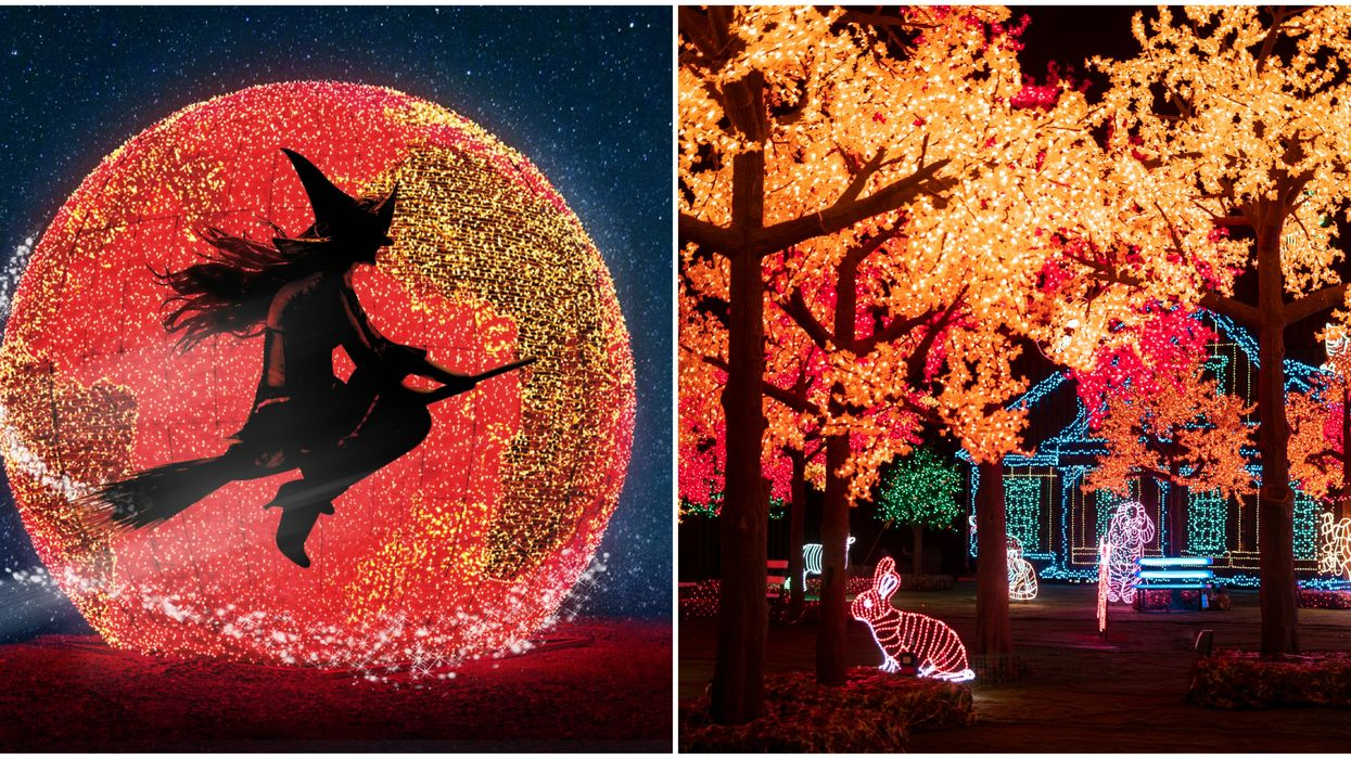 You Can Explore A Halloween Village Of Lights At Illumi In Laval Next Month