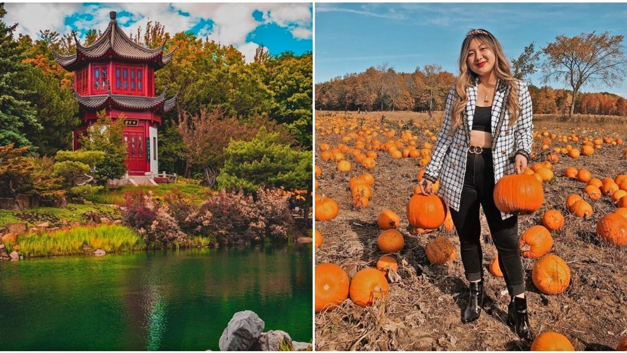7 Of The Most Mesmerizing Spots In & Around Montreal To Explore This Fall