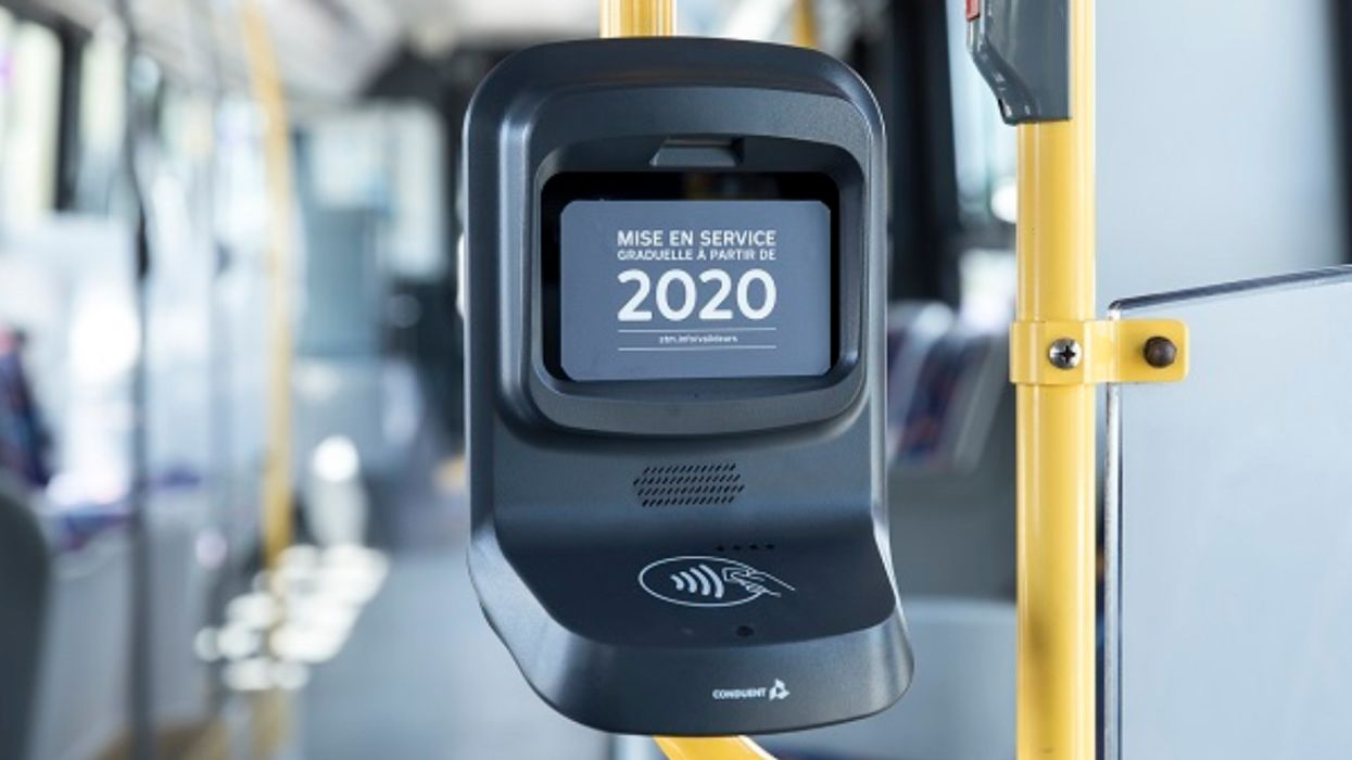 New STM Back Door OPUS Scanners Will Finally Start Working On Some Buses This Week