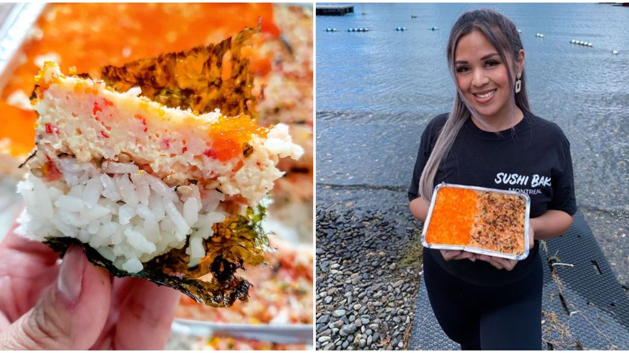 Montrealers Can Now Get 'Baked Sushi' & It's Bound To Be The Next Big Food Trend