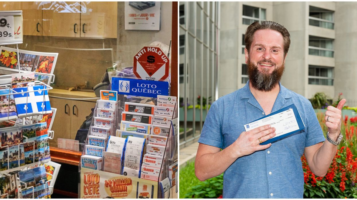 A Montrealer Won The Lottery TWICE In The Same Day & Both Are Lifelong Prizes