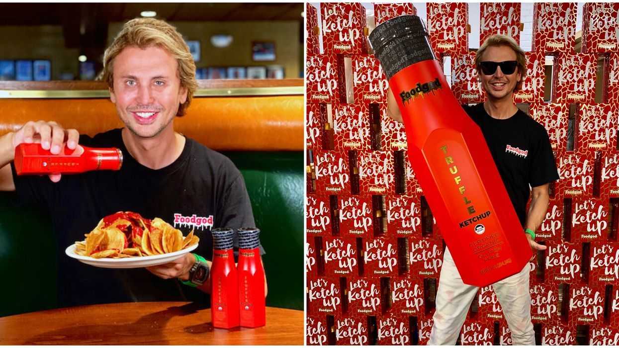 Foodgod Has Created His Own Truffle Ketchup & You Can Find It At 1 Montreal Spot Only