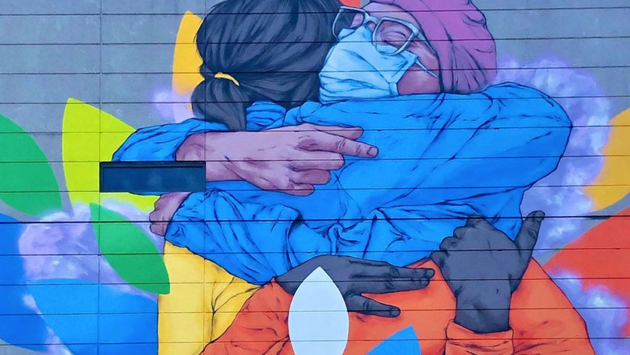 Montreal Has A Giant New Mural & The Message Behind It Will Make You Tear Up (PHOTOS)
