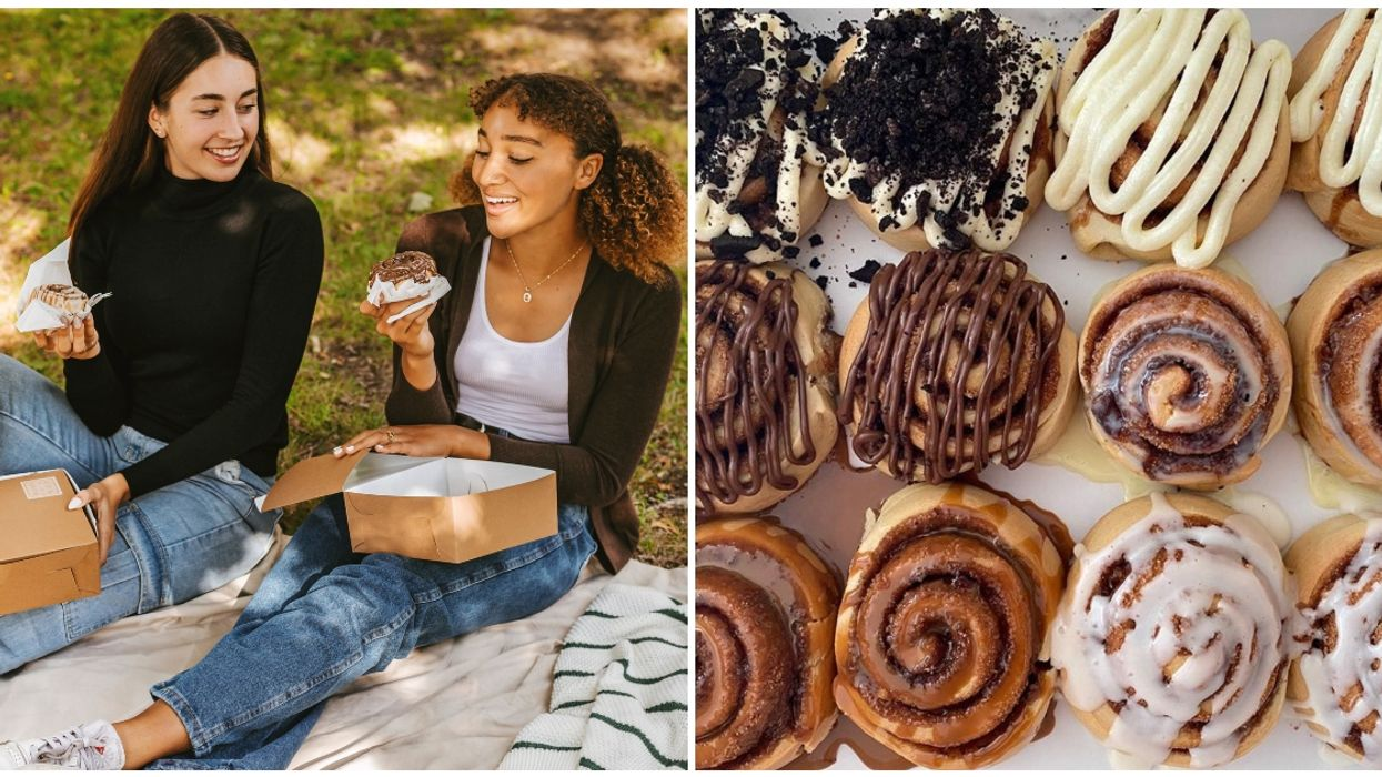 This Montreal Company's Gooey, Sweet Cinnamon Bun Boxes Are Perfect For Fall Picnics