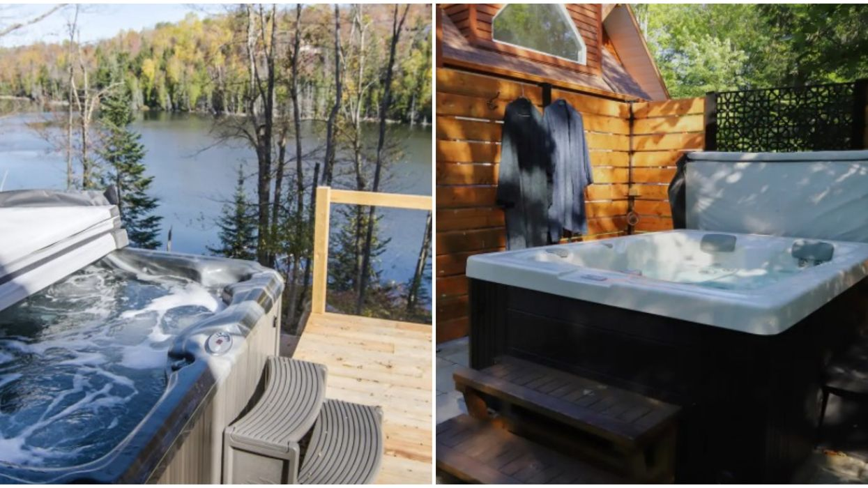 7 Airbnbs In Quebec With Hot Tubs For You To Escape To This Fall