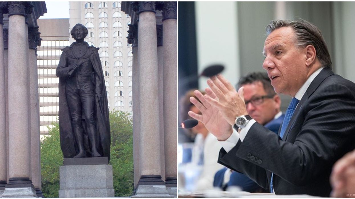 Legault Says Montreal's John A. Macdonald Statue Is Going To Go Right Back Up