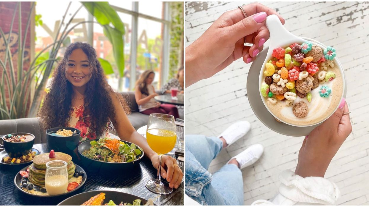 You Can Eat Colourful Cereal, Drink A Boozy Latte & Watch Cartoons At This MTL Restaurant