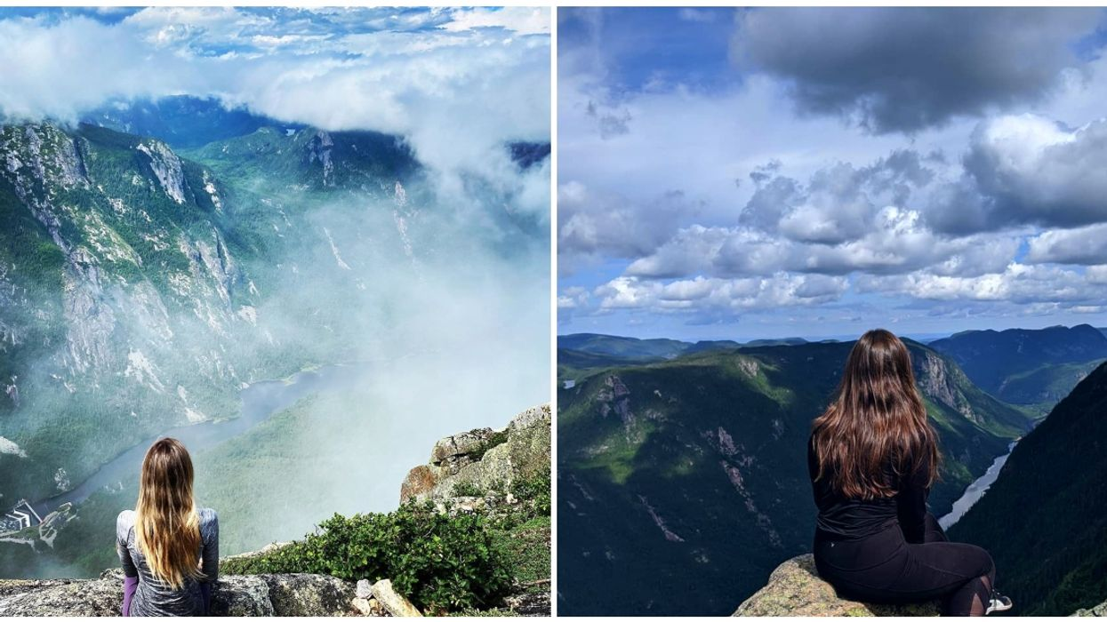 This Quebec National Park Hiking Trail Leads You Straight Into The Clouds (PHOTOS)