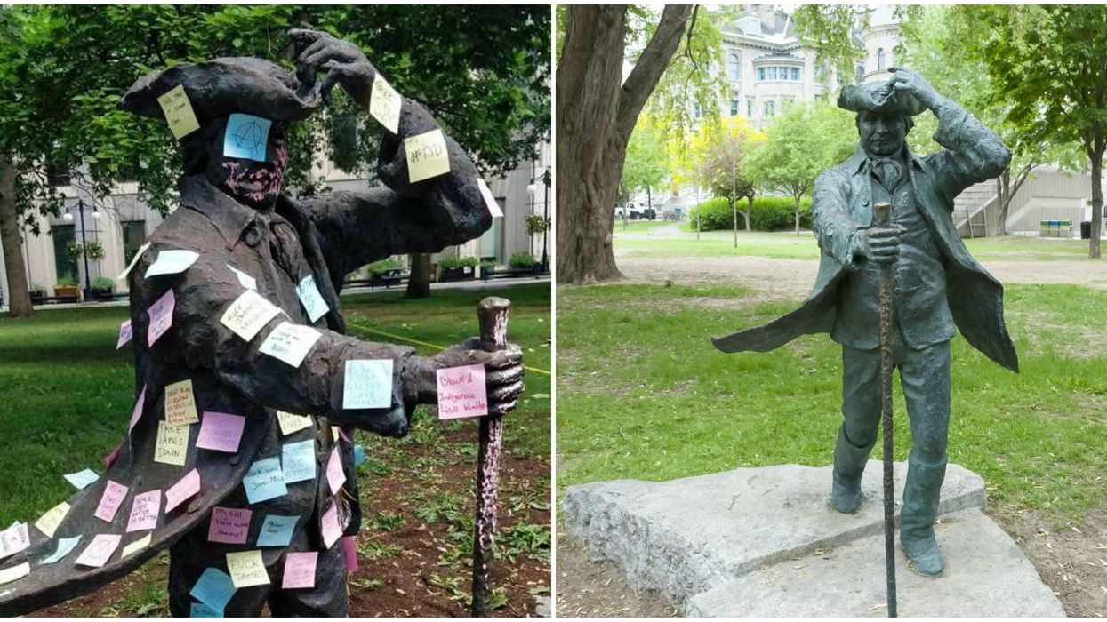 Students Are Calling Out McGill For Not Removing The Statue Of Its Slave-Owning Founder