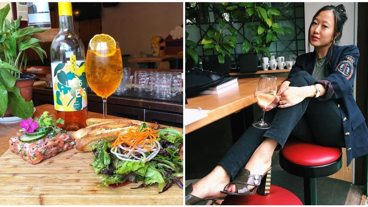This Vibrant Montreal Bar Serves Tartare & A Glass Of Wine For Only $5 Each Every Thursday