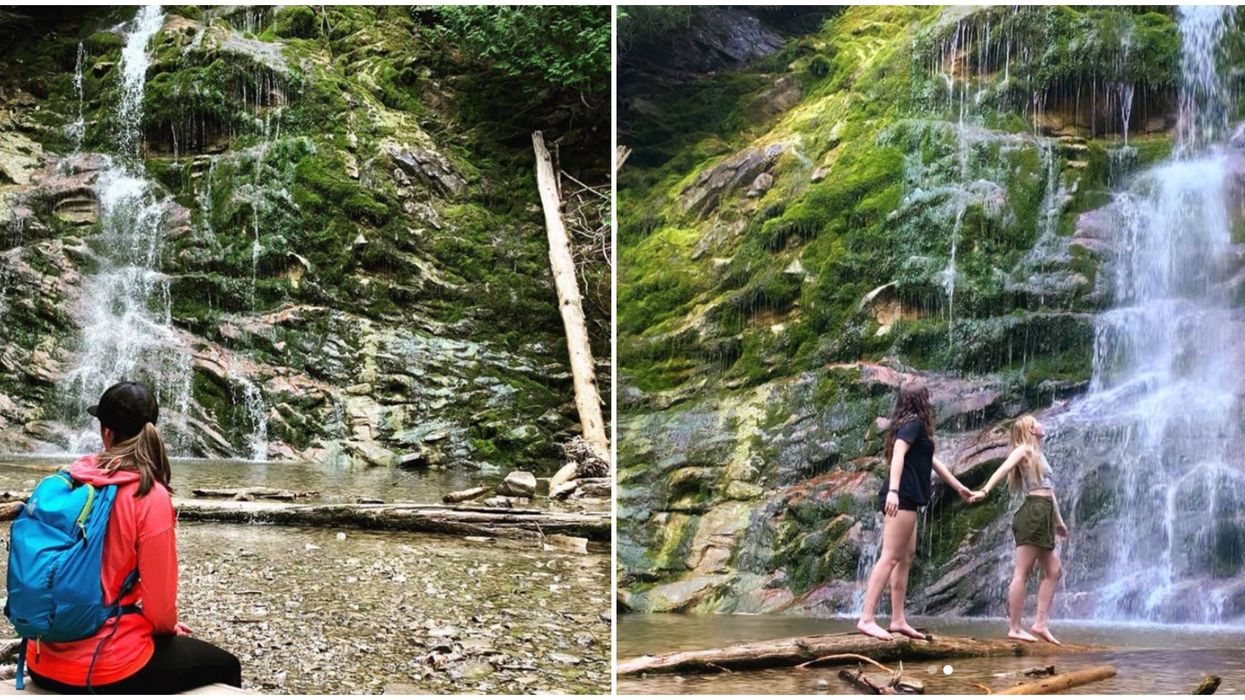 This Short Forillon National Park Trail Takes You Down To A 17-Metre-Tall Waterfall