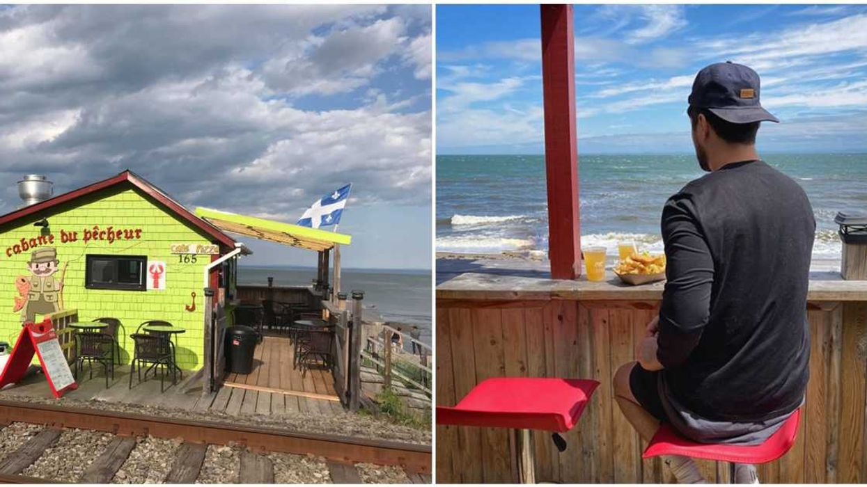 This Seaside Casse-Croûte Is A Mandatory Stop On Your Next Quebec Road Trip