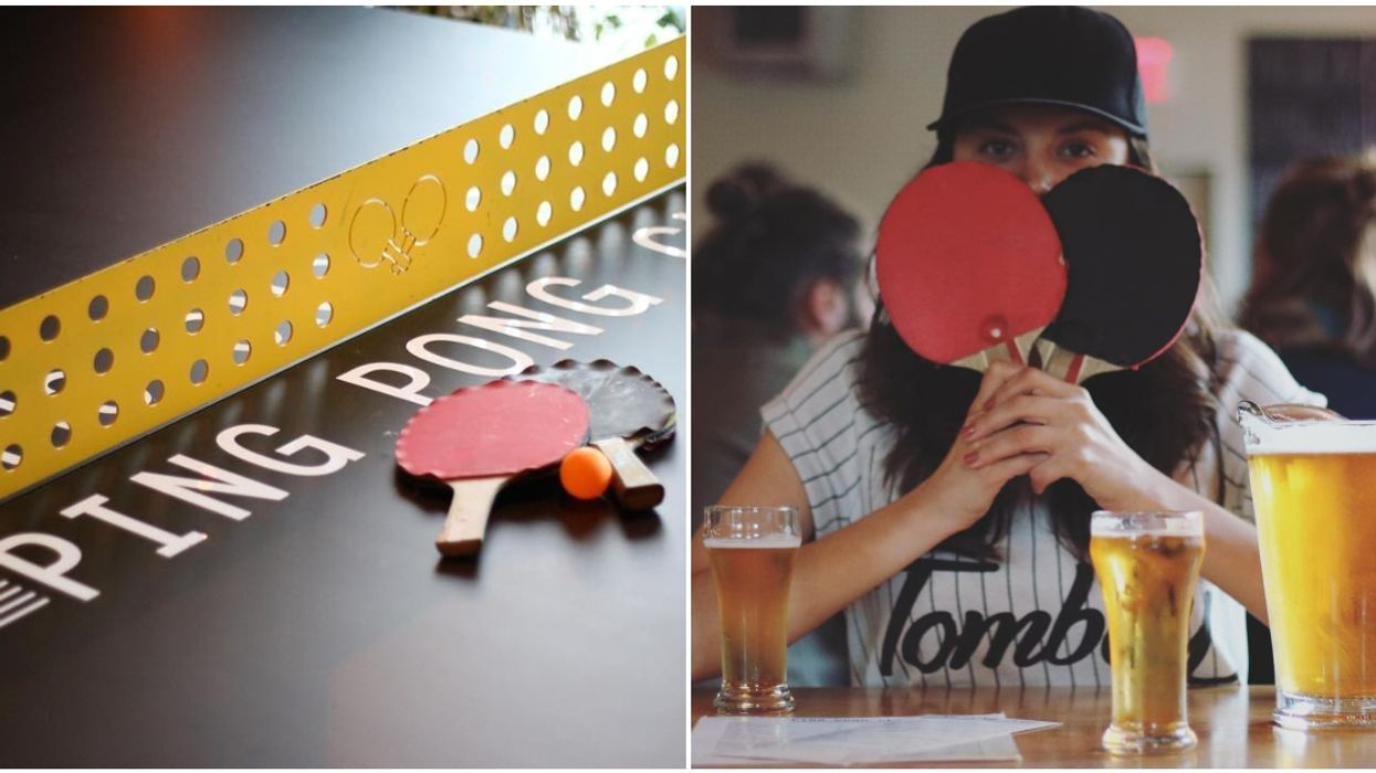 You Can Get Tipsy While Playing Ping Pong At This Bar In Montreal's Mile End