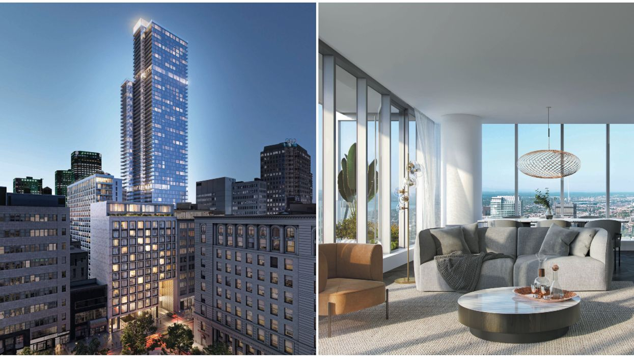 Montreal's Tallest Residential Building Is Under Construction (PHOTOS)