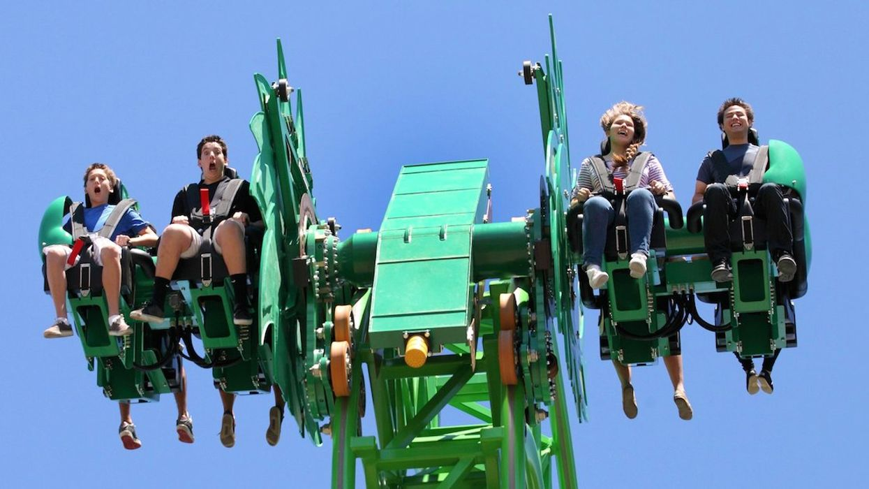 The Opening Of La Ronde's New 'Free Fly' Roller Coaster Has Been Postponed
