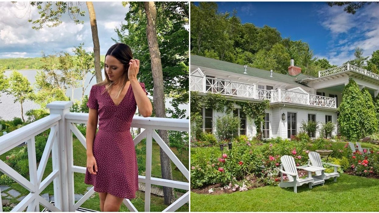You Can Live Out Your White Picket Fence Dreams For A Weekend At This Quebec Hotel