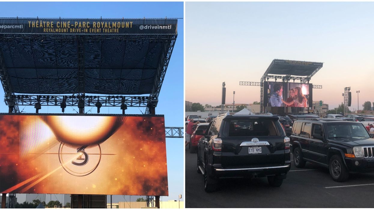 I Went To See A Movie At Montreal's New Drive-In Theatre & Here's What It's Like (PHOTOS)