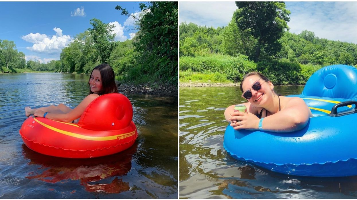5 Lazy Rivers In Quebec You & You Friends Can Float Down This Summer