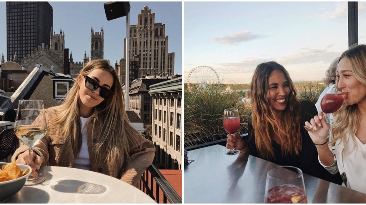 6 Montreal Rooftop Terrasses Where You Can See The Entire City