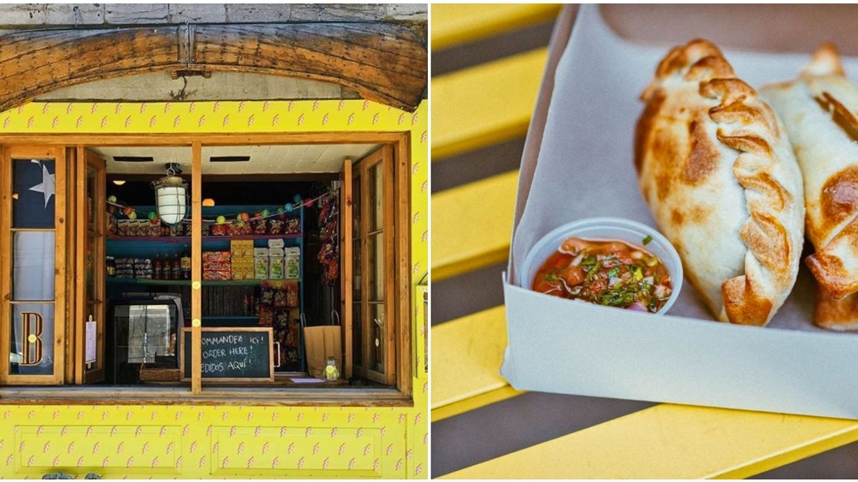 This New Pop-Up Resto In Old Montreal Will Be Serving Up Hot Empanadas All Summer Long
