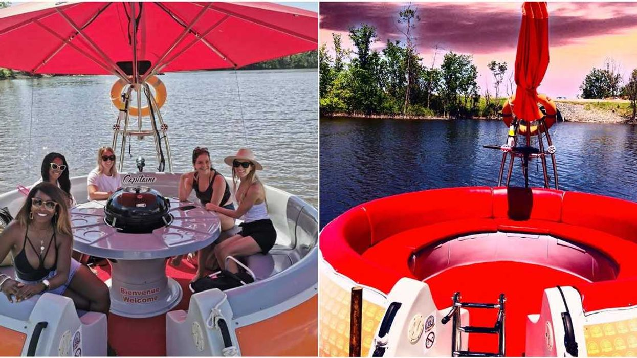 You Can Rent Floating 'Party Donuts' With Built-In BBQs In Laval This Summer