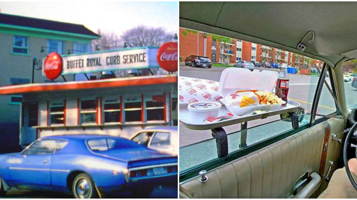 This Retro Quebec Restaurant Will Now Serve You Burgers & Poutine Right To Your Car Window
