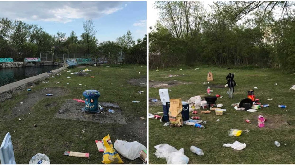 Police Broke Up A Party Near Montreal & The Partiers Left All Their Trash Behind (PHOTOS)