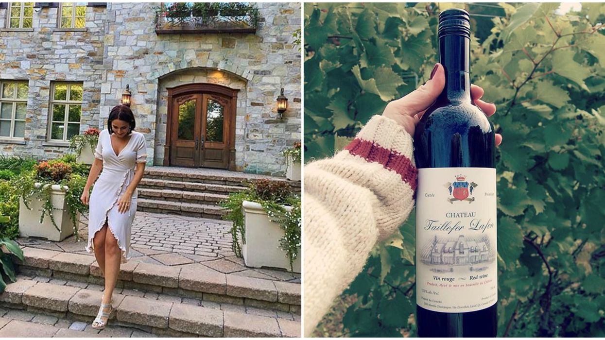 You Can Live Your Royal Fantasy At This Vineyard Château Right Outside Montreal