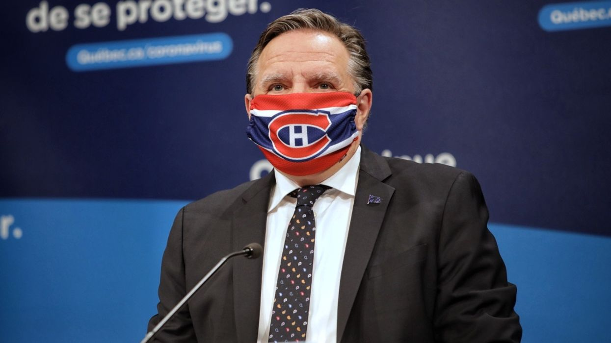 Legault Threw Some Shade At The Montreal Canadiens But He's Unfortunately Not Wrong