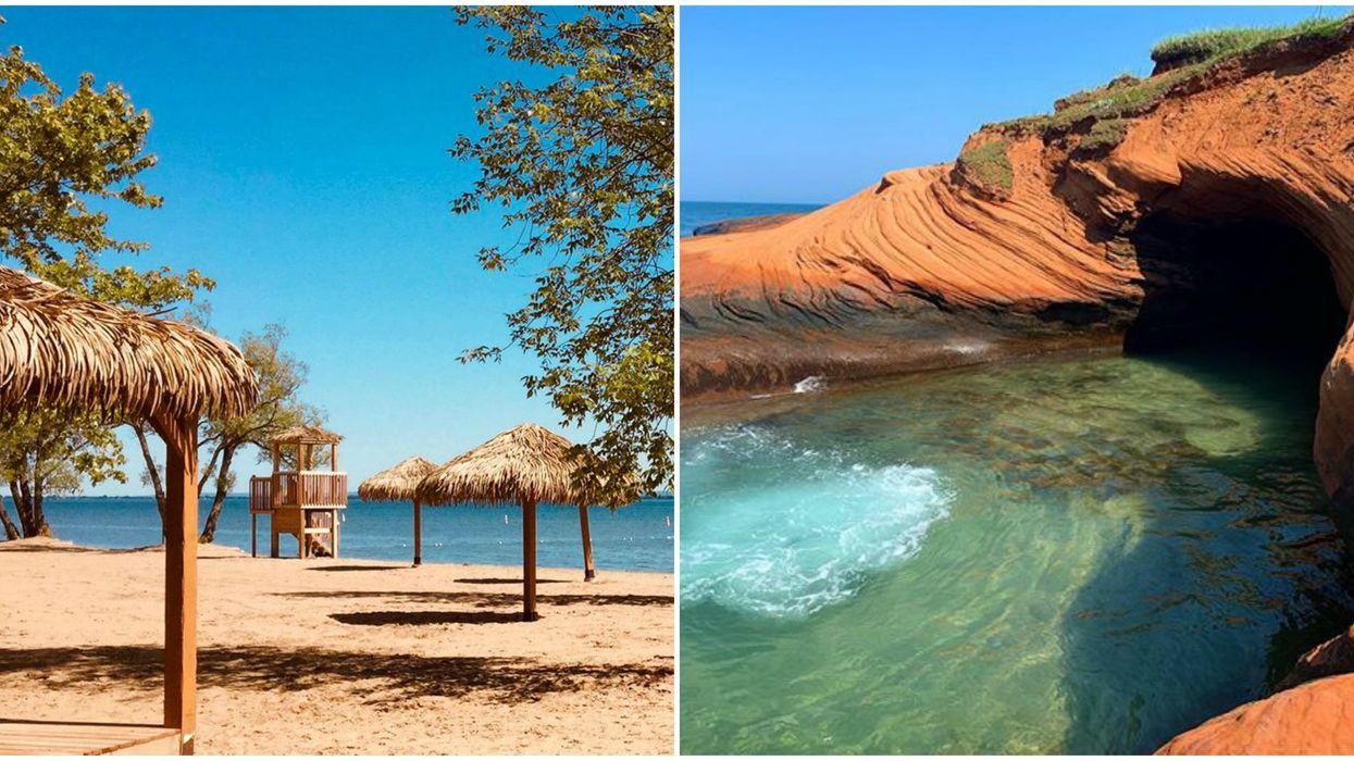 9 Quebec Beaches & Hidden Spots To Explore If You Desperately Need A Caribbean Vacation