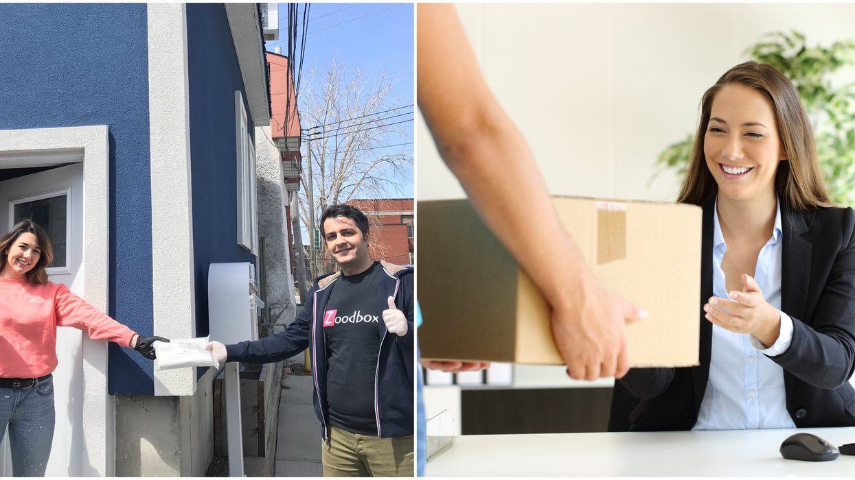 This New App Will Pick Up And Deliver Packages Anywhere In Montreal In One Hour