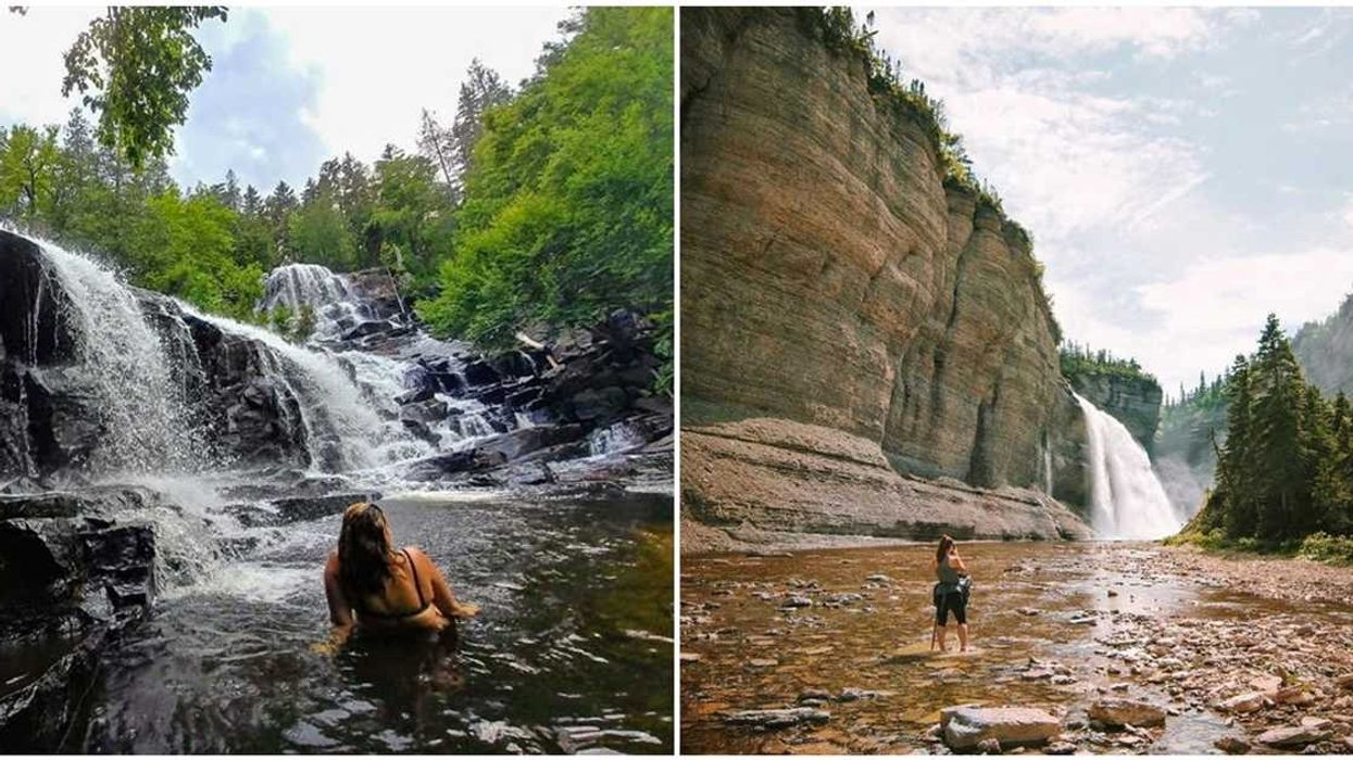 8 Stunning Quebec Waterfalls You Have To See At Least Once In Your Life