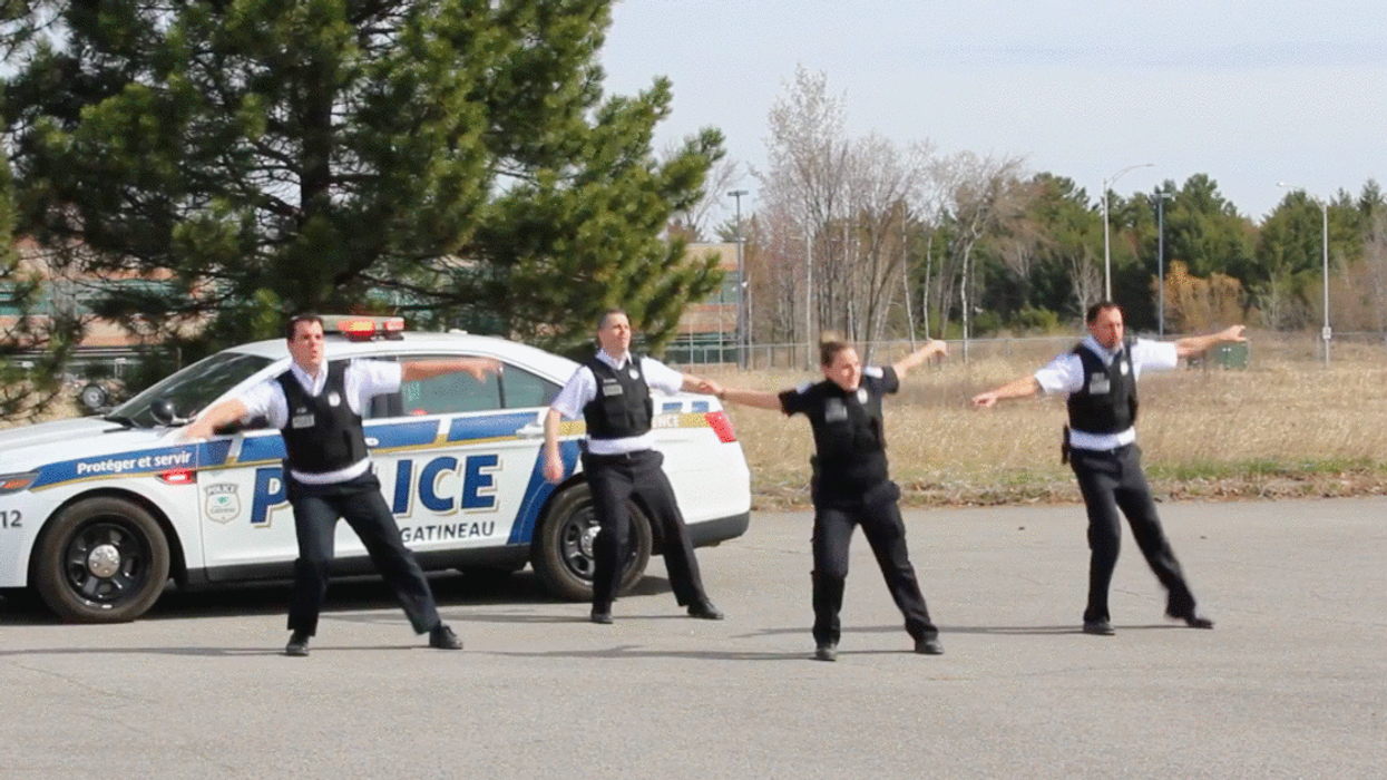 Gatineau Police Filmed Themselves Dancing In The Street & Proved Their 'Bad Boy' Skills