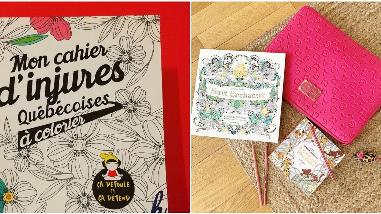 8 Colouring Books For Adults That Will Keep Any Montrealer Entertained For Hours