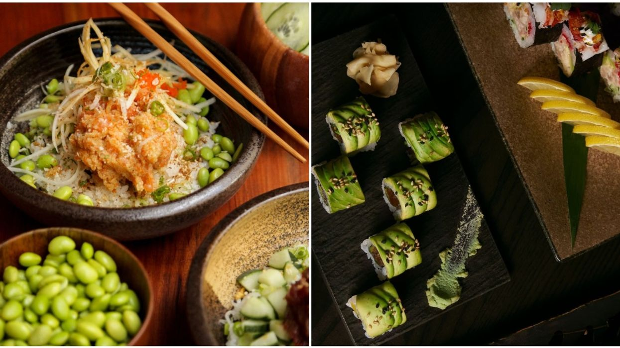 Ryú Sushi Bar Is Now Doing Delivery & Offering Discounted Wine And Sake Bottles