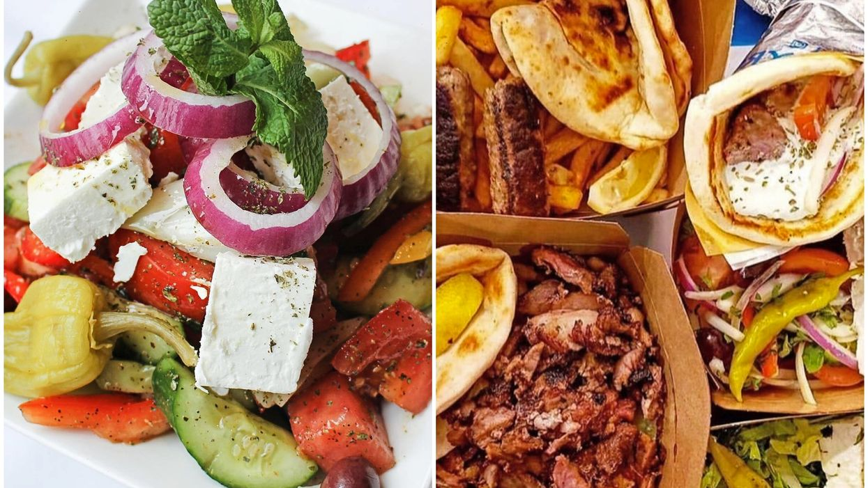 7 Greek Restaurants To Order In Montreal If You're Missing The Mediterranean