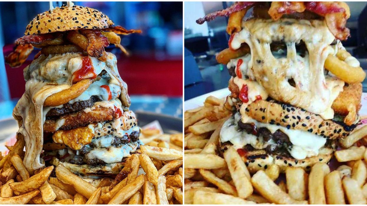Allons Burger Has A Monster Burger & The Owners Don't Think Anyone Can Finish It