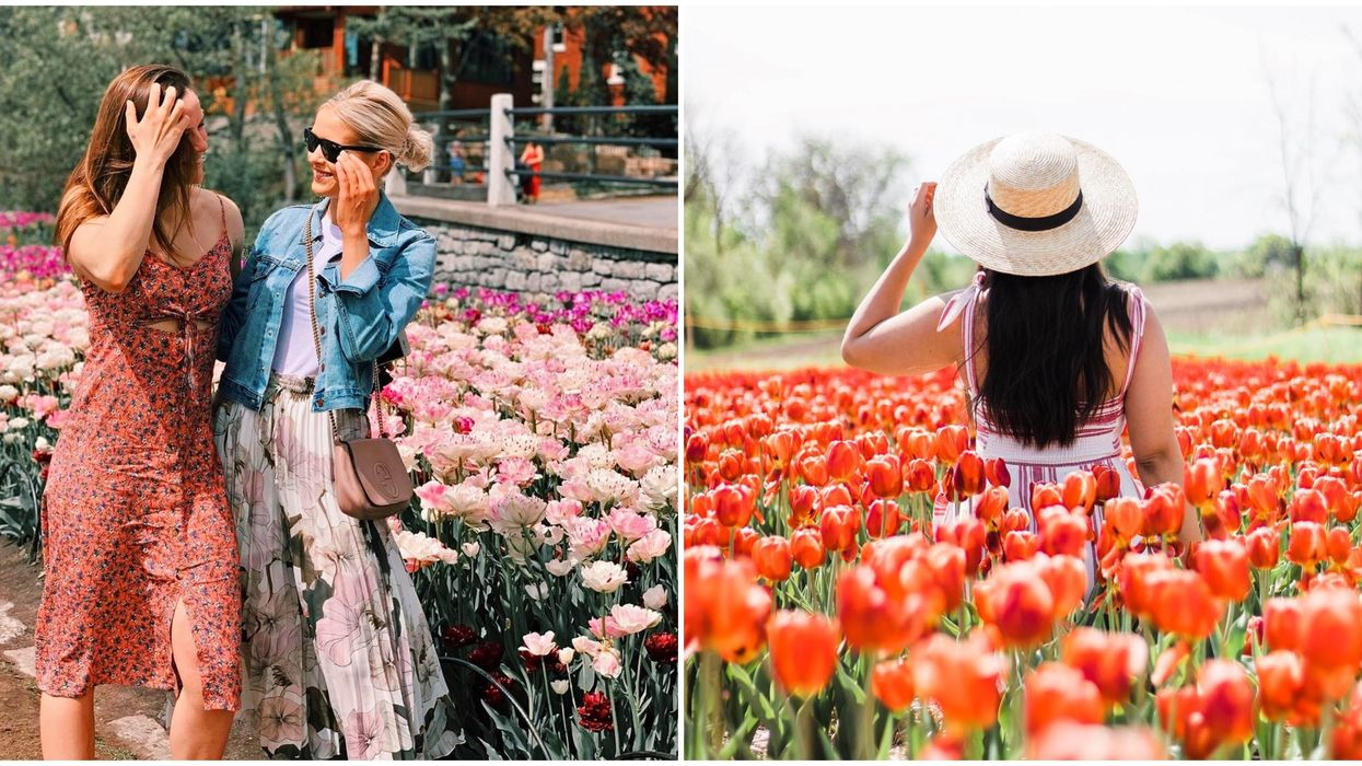 7 Flowery Spots In & Around Montreal You And Your Bestie Have To Discover This Spring