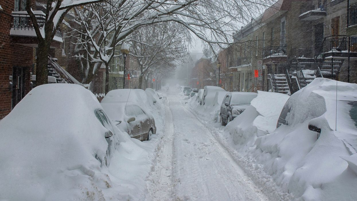 Parts Of Southern Quebec Could Get Up To 35 cm Of Snow Before The Weekend