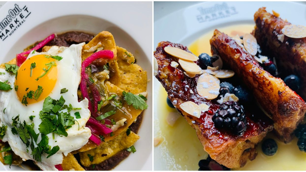 Time Out Market Montreal Is Now Serving Brunch & We're Ready To Eat It All