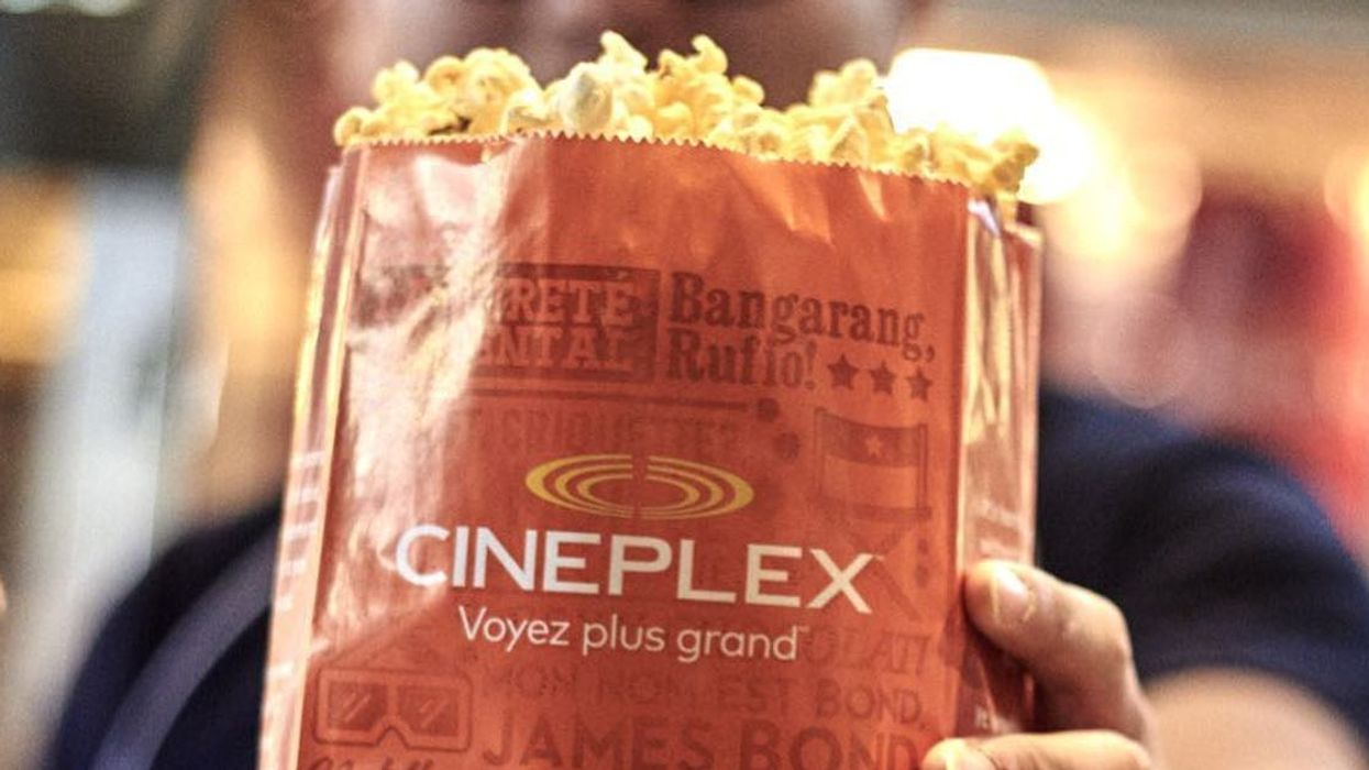 You Can Get Free Popcorn At Cineplex Theatres In Quebec This Weekend