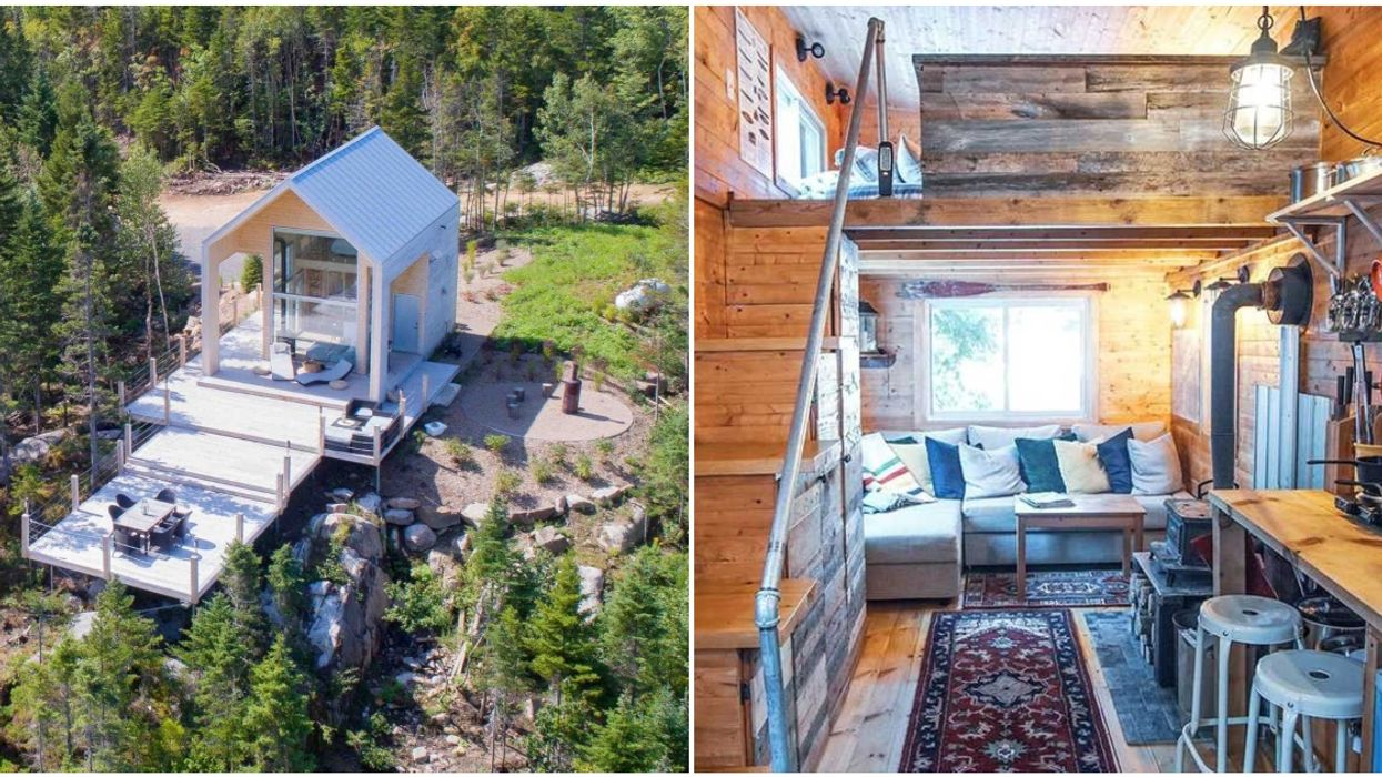 8 Tiny Airbnb Homes Around Quebec That Are Perfect For Escaping The Big City